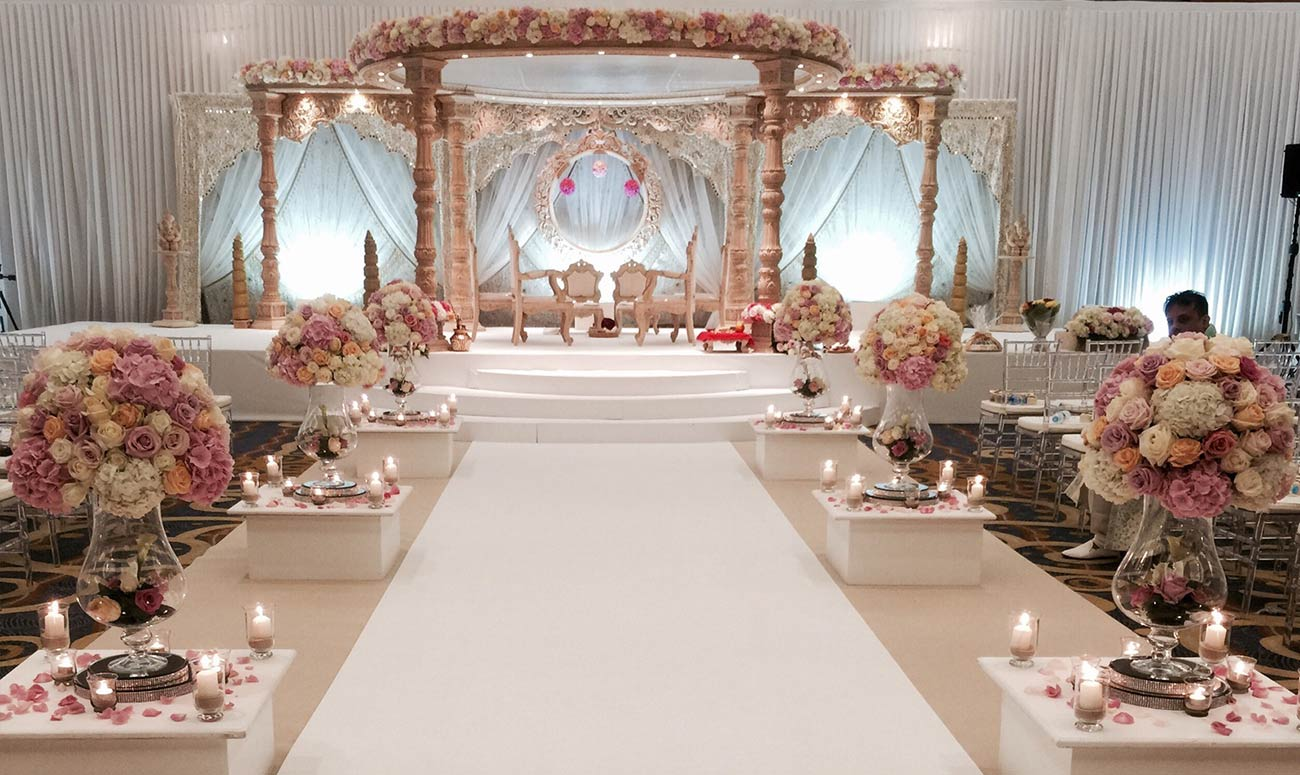 Floral Decor: Stylish Mandaps, Wedding Stage Decor & Themed Events At