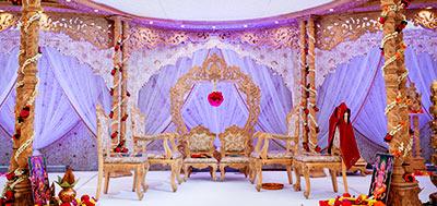 Stylish Mandaps Wedding Stage Decor amp Themed Events At